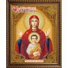 В рамке Икона Знамение Алмазная вышивка мозаика АЖ-5053