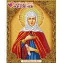Икона Святая Анна Алмазная вышивка мозаика