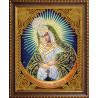 В рамке Икона Остробрамская Богородица Алмазная вышивка мозаика АЖ-5023