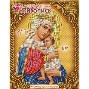Икона Отчаянных Единая Надежда Алмазная вышивка мозаика АЖ-5024