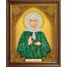 В рамке Икона Матрона Московская Алмазная вышивка мозаика АЖ-5030