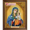 В рамке Икона Неувядаемый цвет Алмазная вышивка мозаика АЖ-5039
