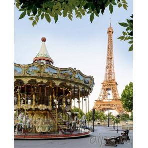 Парижская карусель Раскраска картина по номерам на холсте GX26731