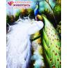 Величественные павлины Алмазная вышивка мозаика АЖ-0204