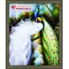 В рамке Величественные павлины Алмазная вышивка мозаика АЖ-0204