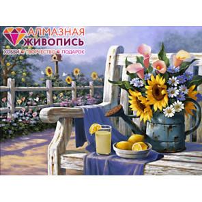 Садовый натюрморт Алмазная вышивка мозаика АЖ-1334