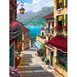 Лестница к морю Алмазная вышивка мозаика АЖ-1341