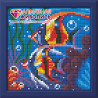 В рамке Обитатели рифа Алмазная вышивка мозаика АЖ-1364