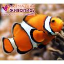 Рыба клоун Алмазная вышивка мозаика