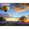 Полет на воздушном шаре Алмазная вышивка мозаика АЖ-1414