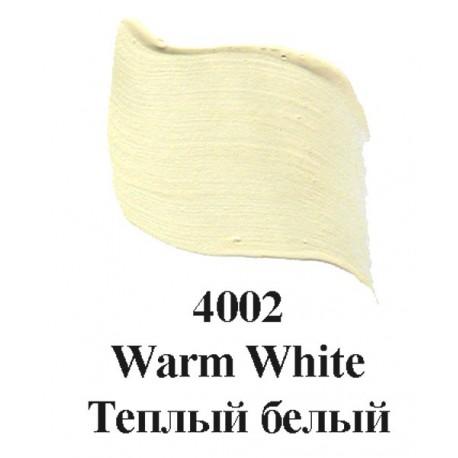 4002 Теплый белый Эмалевые краски Enamels FolkArt Plaid