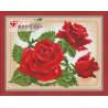 В рамке Молодая роза Алмазная вышивка мозаика АЖ-1446