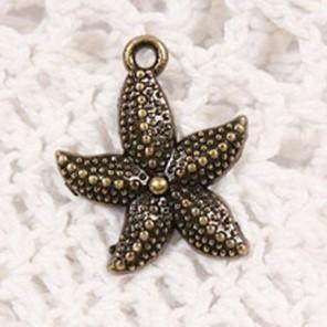 Морская звездочка Подвеска металлическая для скрапбукинга, кардмейкинга Scrapberry's