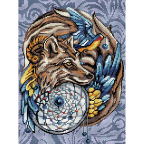 Волшебный амулет Алмазная вышивка мозаика АЖ-1592
