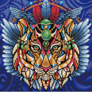Тигриный талисман Алмазная вышивка мозаика АЖ-1593
