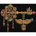 Ключ от всех дверей Алмазная вышивка мозаика АЖ-1597