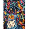 Сказочный олень Алмазная вышивка мозаика
