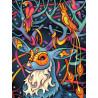 Сказочный олень Алмазная вышивка мозаика АЖ-1611