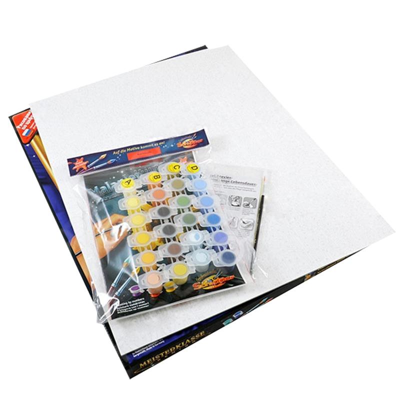 Состав набора раскраски по номерам Schipper