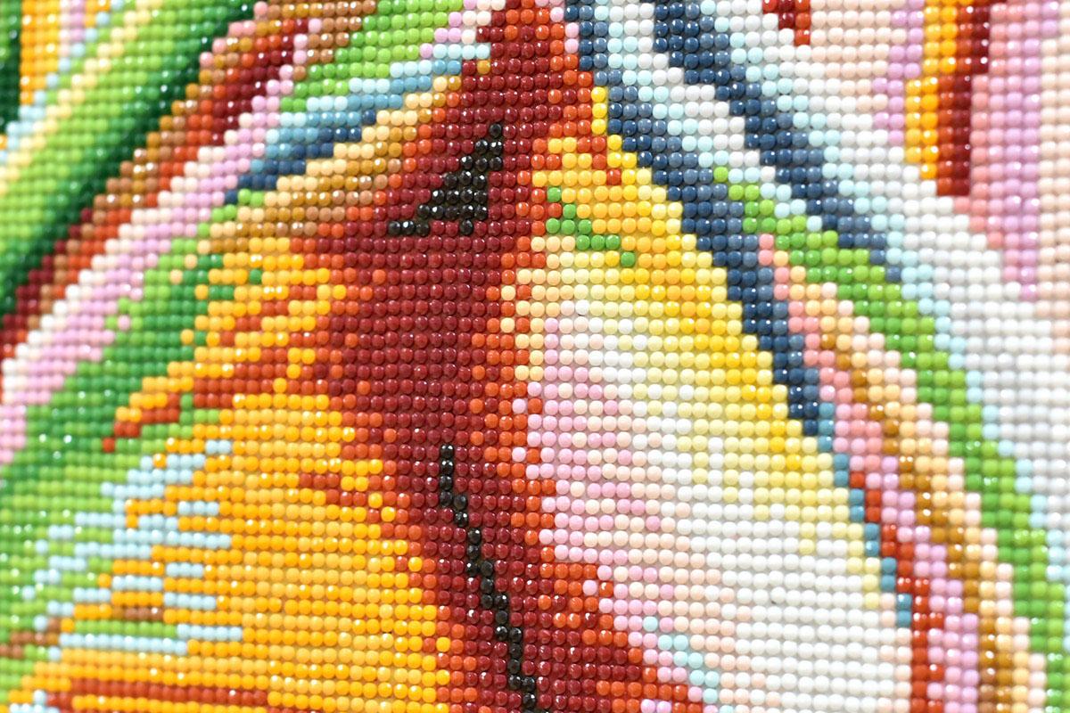 Круглые стразы из алмазной мозаики Color Kit
