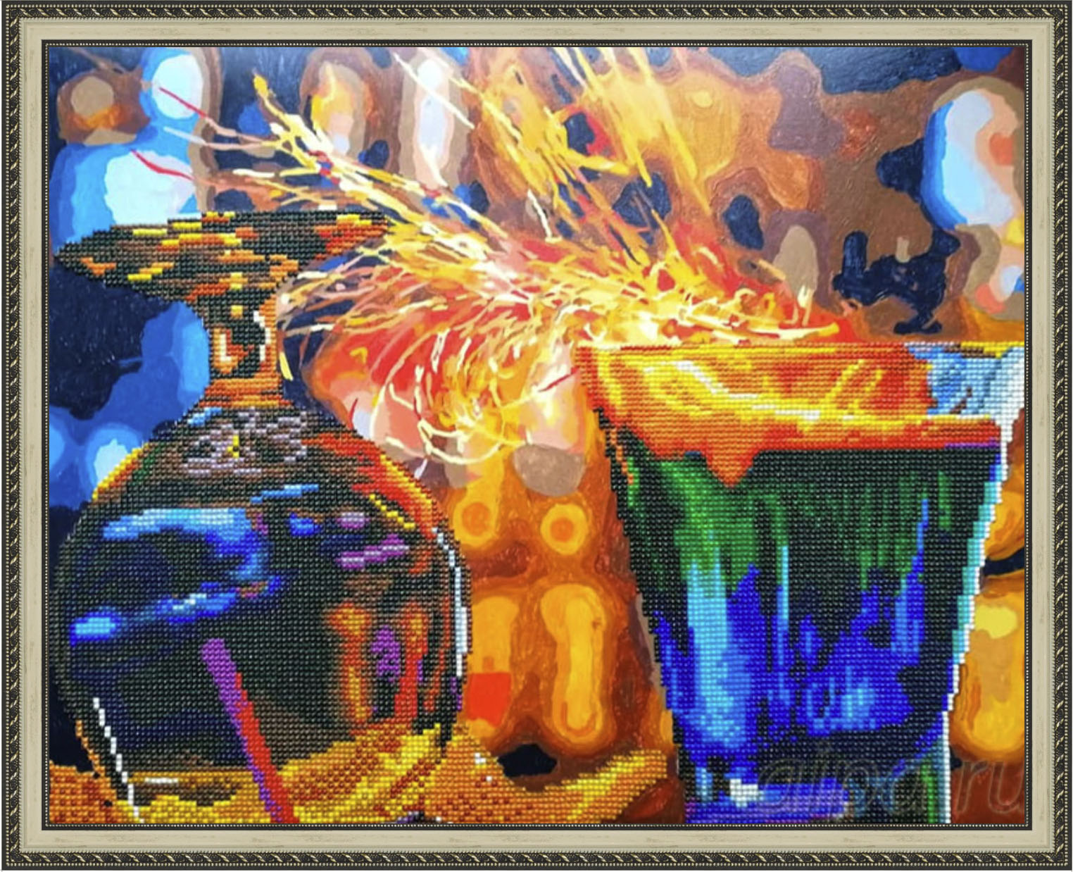 Огненные коктейли в рамке N143