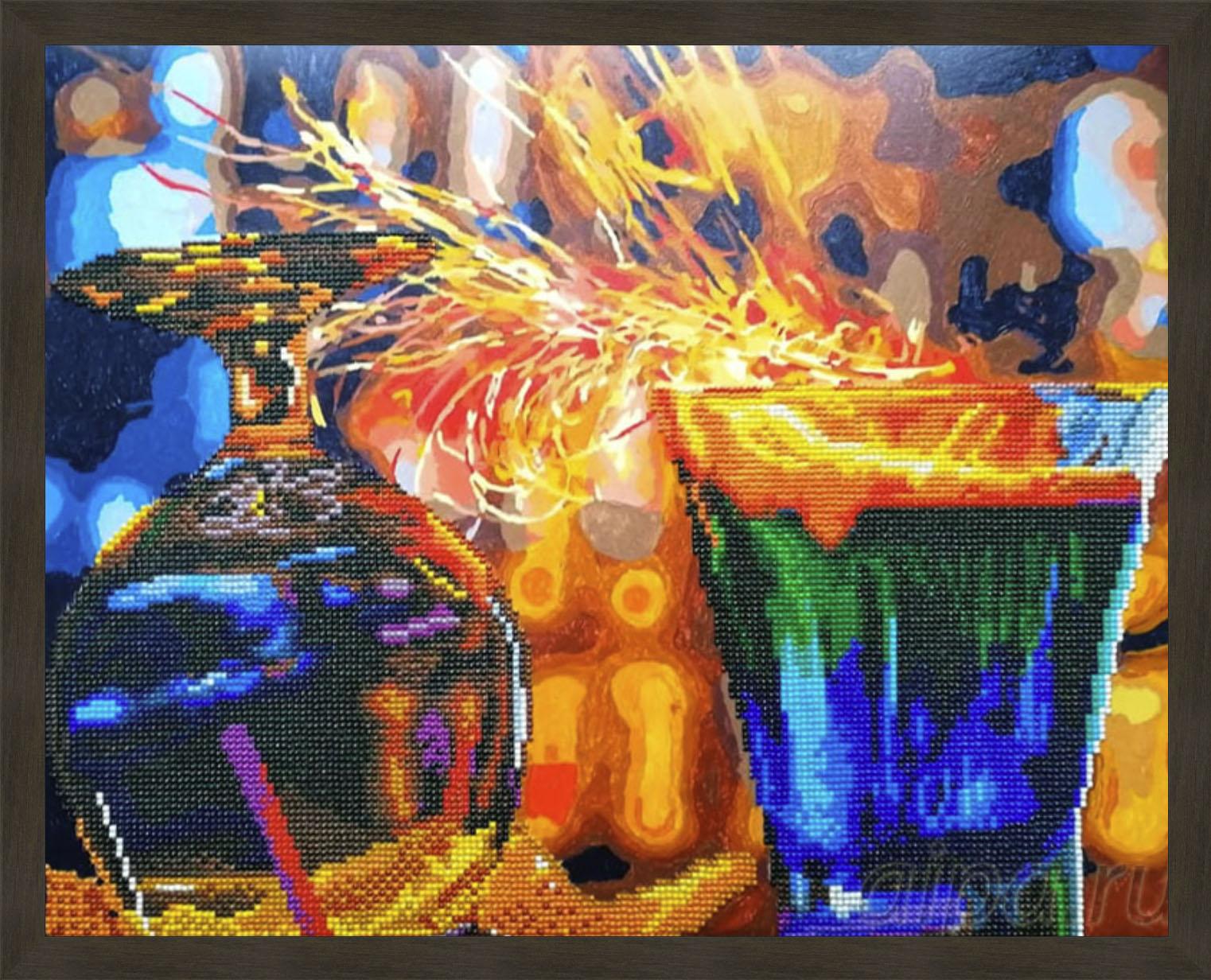 Огненные коктейли в рамке N181 Isabella