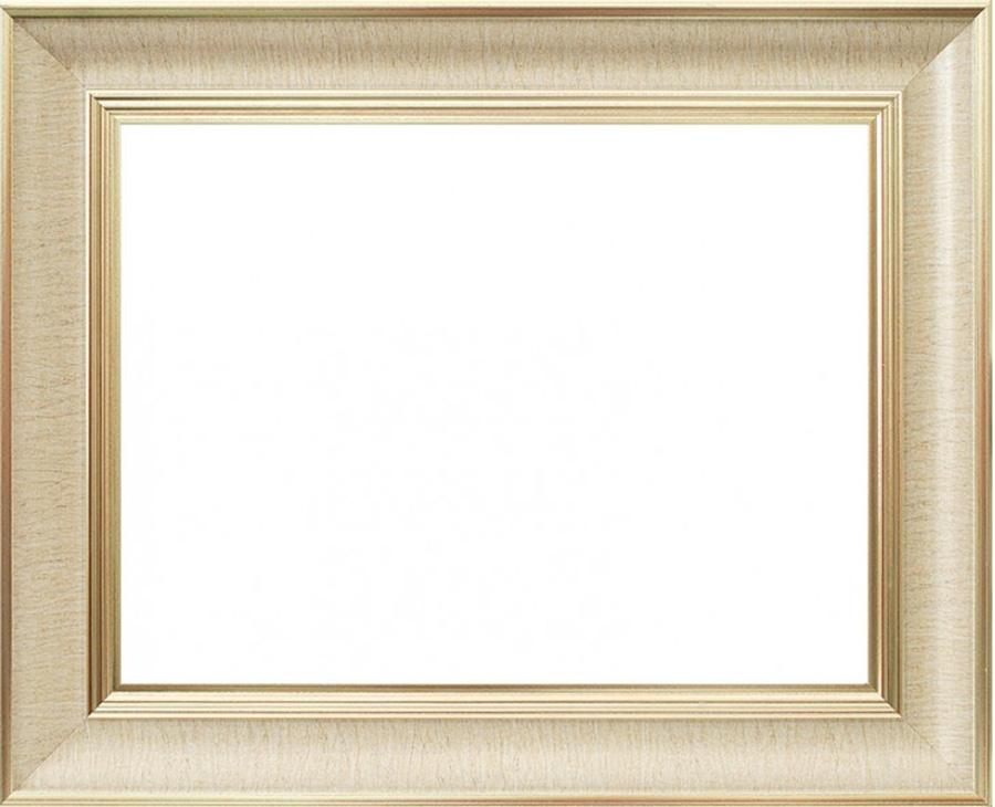 Внешний вид багетной рамки Stella золотая для картины по номерам на подрамнике или на картоне