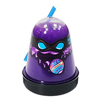 Слайм Ninja меняет цвет на голубой при согреве до 28 градусов